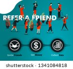 people are refer a friend and...
