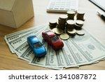 close up object money exchange... | Shutterstock . vector #1341087872