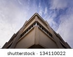 upwards. the corner of a... | Shutterstock . vector #134110022