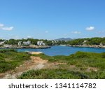 view from  old historic... | Shutterstock . vector #1341114782