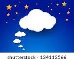 Cloud As A Giant Speech Bubble...