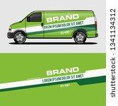 Car Livery Green Van Wrap...