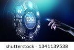 edge computing modern it...   Shutterstock . vector #1341139538