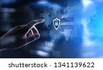 access window with login and...   Shutterstock . vector #1341139622