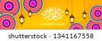 ramadan kareem wallpaper banner ... | Shutterstock .eps vector #1341167558