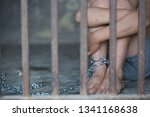 children violence and abused... | Shutterstock . vector #1341168638