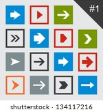 vector illustration of plain... | Shutterstock .eps vector #134117216