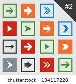 vector illustration of plain... | Shutterstock .eps vector #134117228
