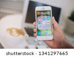 chiang mai  thailand  16 march...   Shutterstock . vector #1341297665