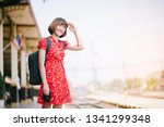 asian chinese photographer...   Shutterstock . vector #1341299348