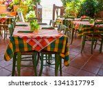 iitalian trattoria interior... | Shutterstock . vector #1341317795