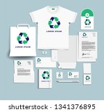 corporate identity of the... | Shutterstock .eps vector #1341376895