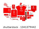 corporate identity of the... | Shutterstock .eps vector #1341379442