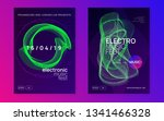 music poster. cool concert... | Shutterstock .eps vector #1341466328