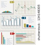 infographic elements. business... | Shutterstock .eps vector #134148305