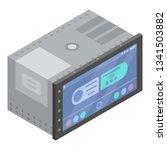 car touchscreen device icon....   Shutterstock .eps vector #1341503882