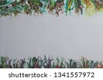 abstract acrylic pour painting...   Shutterstock . vector #1341557972