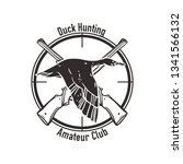 hunting club labels  badges ...   Shutterstock .eps vector #1341566132