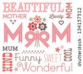 Vector Mothers Day Card Or...