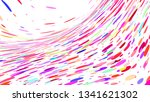 colourful simple abstract... | Shutterstock .eps vector #1341621302