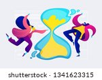 time management  effective time ... | Shutterstock .eps vector #1341623315