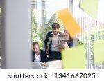 business people meeting team ... | Shutterstock . vector #1341667025