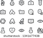 bold stroke vector icon set  ... | Shutterstock .eps vector #1341677438