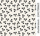 vector seamless pattern. floral ... | Shutterstock .eps vector #1341708665