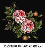 classical embroidery vintage... | Shutterstock .eps vector #1341718982