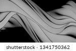 vector 3d striped waves....   Shutterstock .eps vector #1341750362