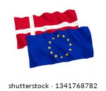 national fabric flags of... | Shutterstock . vector #1341768782