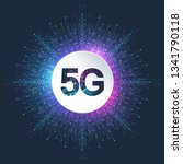 5g network wireless systems and ... | Shutterstock .eps vector #1341790118