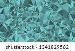 technology green triangles... | Shutterstock .eps vector #1341829562