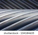 a thread of gear close up | Shutterstock . vector #134184635