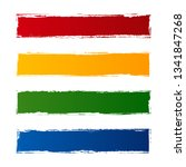 vector collection of colored... | Shutterstock .eps vector #1341847268