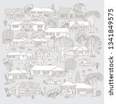 vector set of isolated small...   Shutterstock .eps vector #1341849575