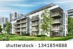 Modern Residential Buildings In ...