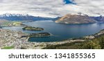 panoramic view  the remarkables ... | Shutterstock . vector #1341855365