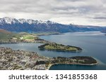 panoramic view  the remarkables ... | Shutterstock . vector #1341855368