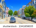 san francisco  california  usa  ... | Shutterstock . vector #1341858035