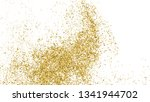gold glitter texture isolated... | Shutterstock .eps vector #1341944702
