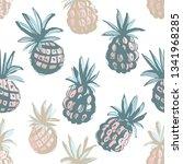 vector illustration tropical...   Shutterstock .eps vector #1341968285
