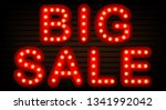 big sale retro banners with... | Shutterstock .eps vector #1341992042