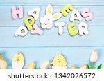 delicious easter cookies... | Shutterstock . vector #1342026572