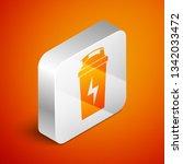 isometric fitness shaker icon... | Shutterstock .eps vector #1342033472