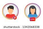 social media user icon....