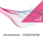 abstract art. array with... | Shutterstock .eps vector #1342076438