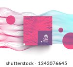 abstract art. array with... | Shutterstock .eps vector #1342076645