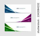 banner background template.... | Shutterstock .eps vector #1342084232