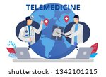 health care concept in flat... | Shutterstock .eps vector #1342101215